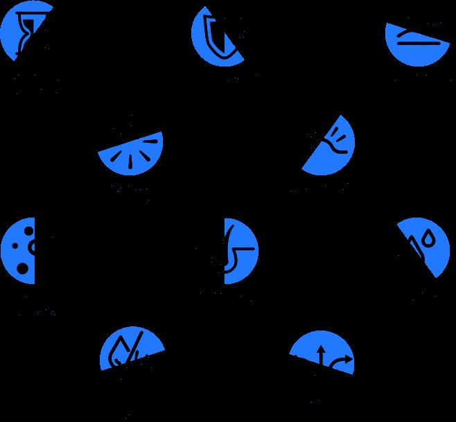 Custom-made iconography