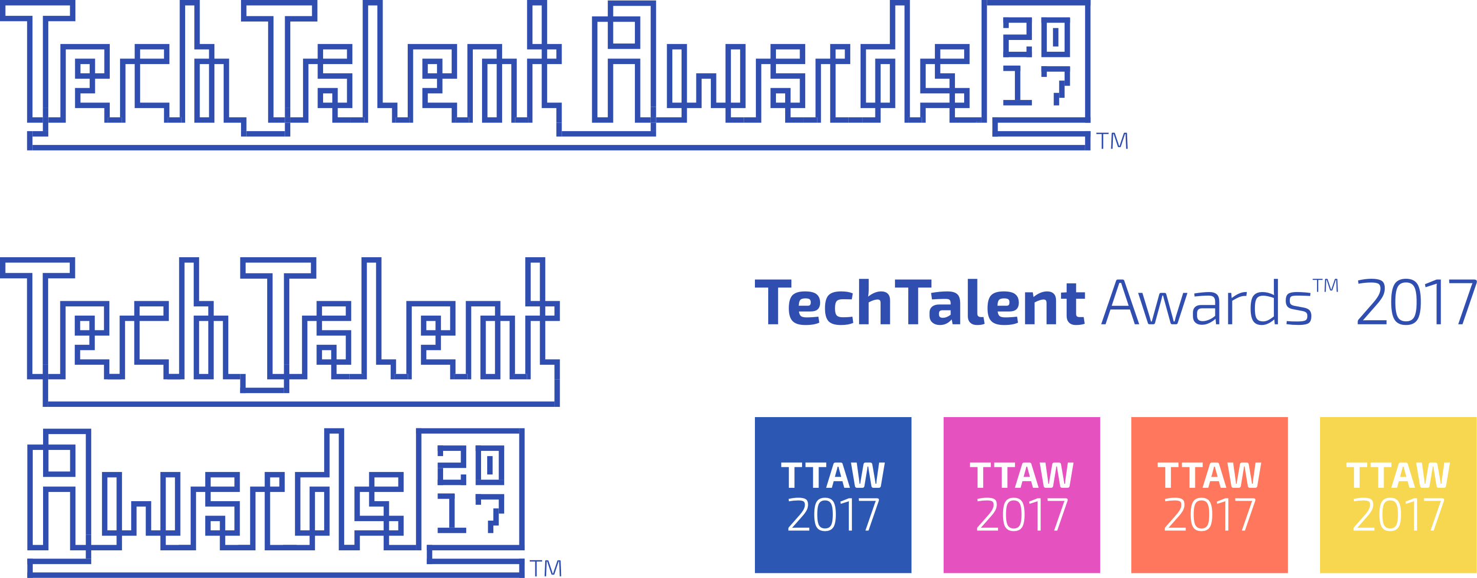 TechTalent Awards year specific logo