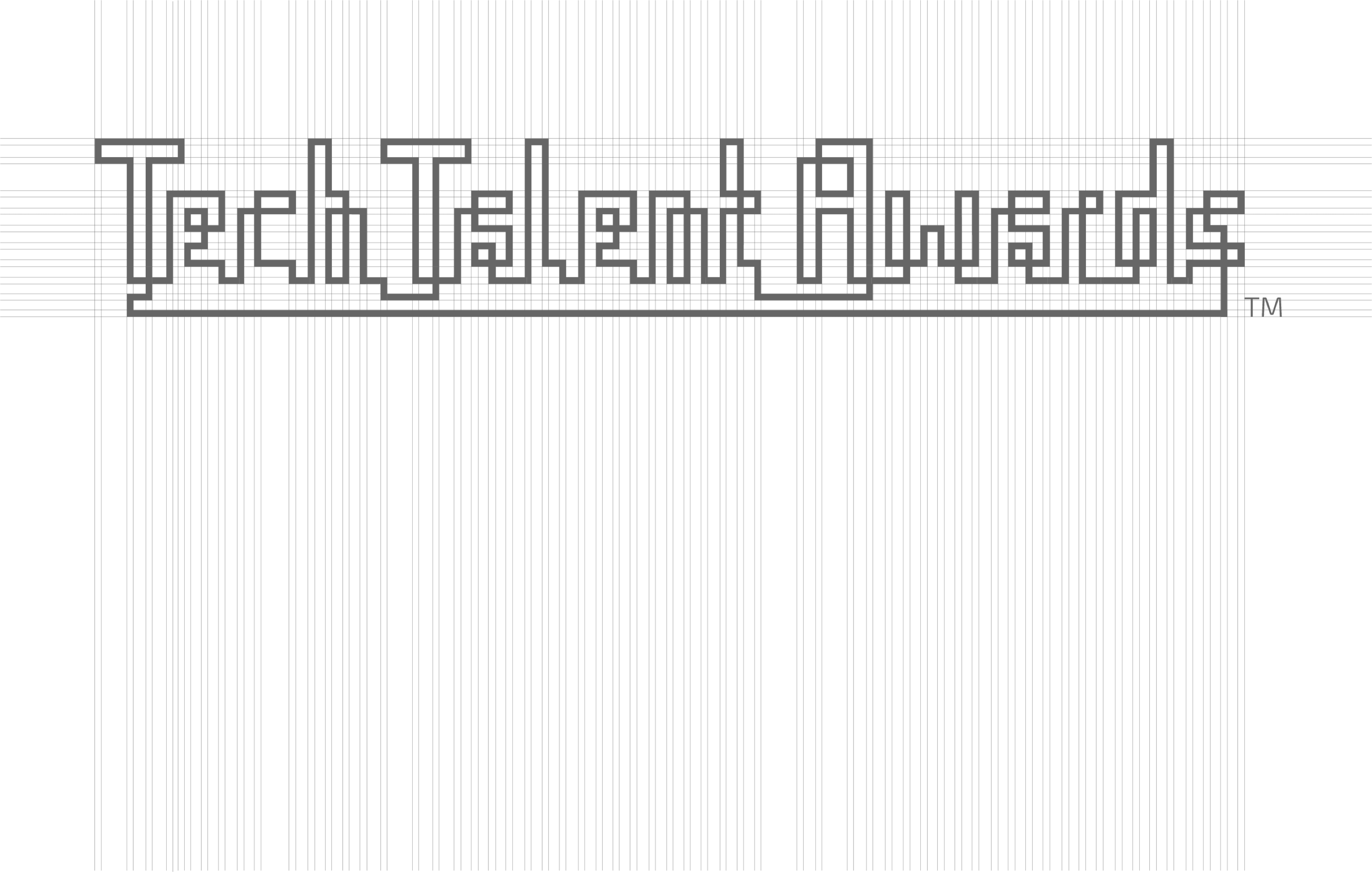 TechTalent Awards logo grid mockup